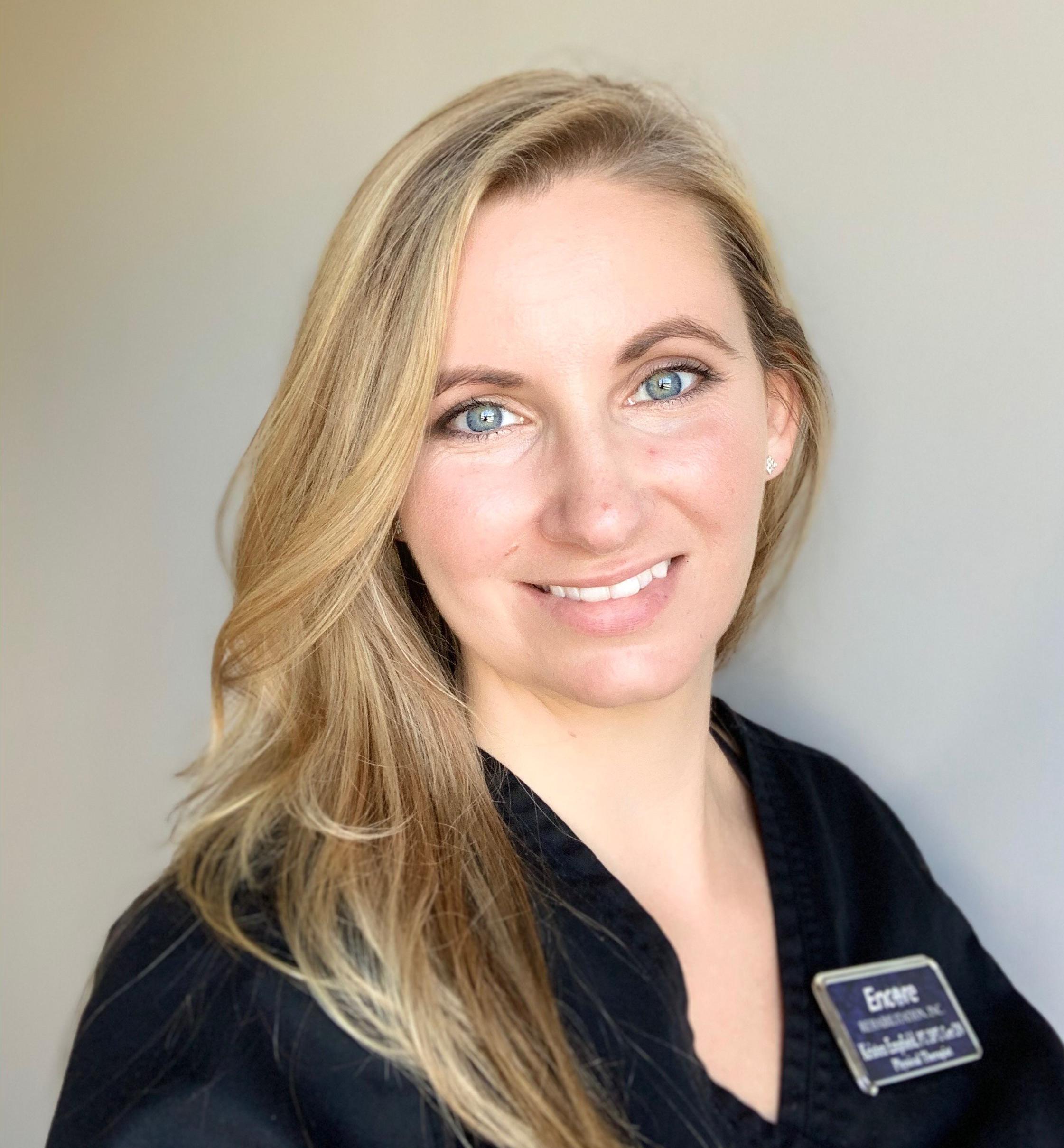 Kristen Empfield, DPT, Clinic Director at #EncoreRehab Bay Minette