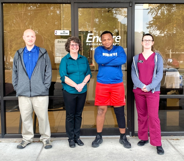 Litmaine Magee is Athlete of the Month for Encore Rehabilitation-Long Beach #EncoreRehab