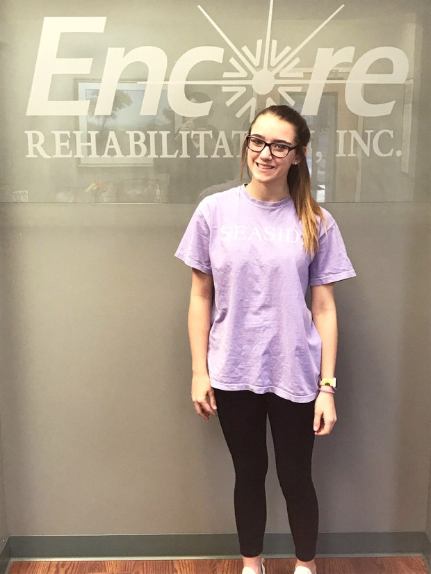 Alyssa Brooks is Athlete of the Month for #EncoreRehab Decatur