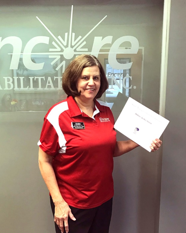 Encore Rehabilitation Occupational Therapist Dolores Kisby-Green has earned her Certified Hand Therapy certificate.