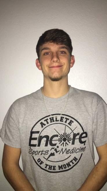 Bryce Perkins is Athlete of Month for Vinemont High School and Encore Rehabilitation-Cullman