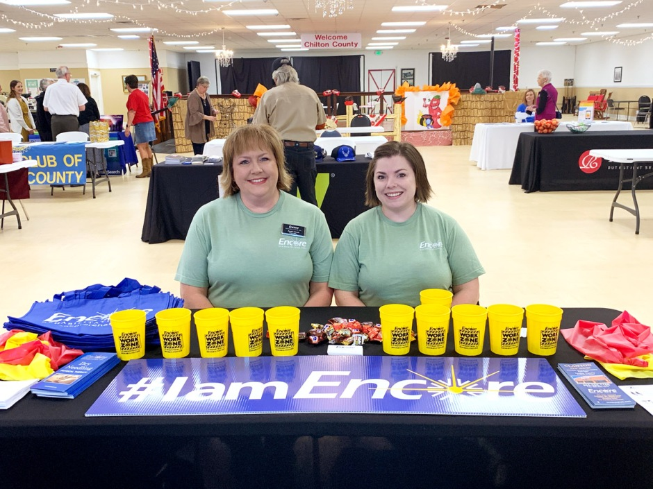 #EncoreRehab Clanton enjoyed being a part of the Senior Connection Chill Cook-off and Health Fair