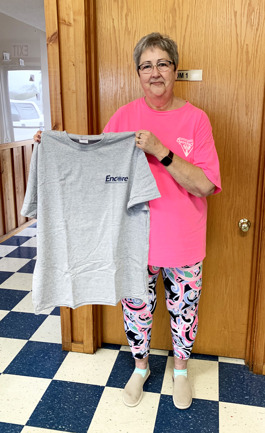 SportsFit Member of the Month Brenda Snell #weLOVEtoseeyoumove