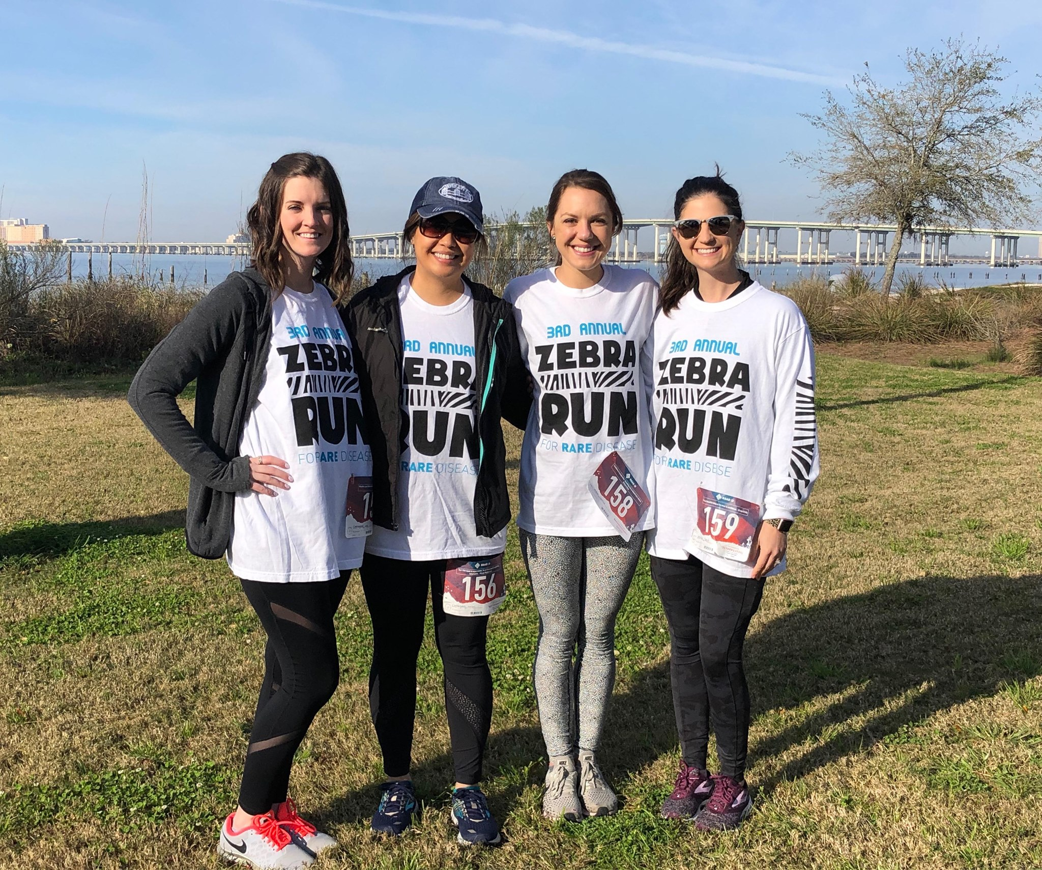 #EncoreRehab Therapist participate in community Zebra Run 5K