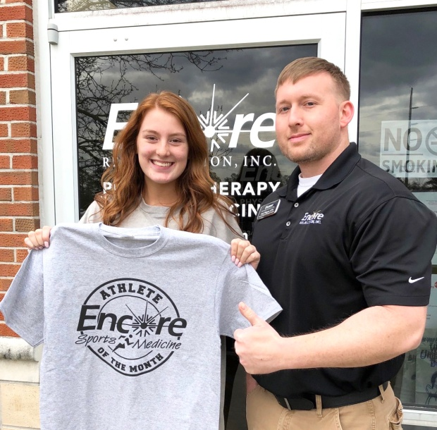 Emma Griffin is Athlete of the Month for #EncoreRehab Geneva
