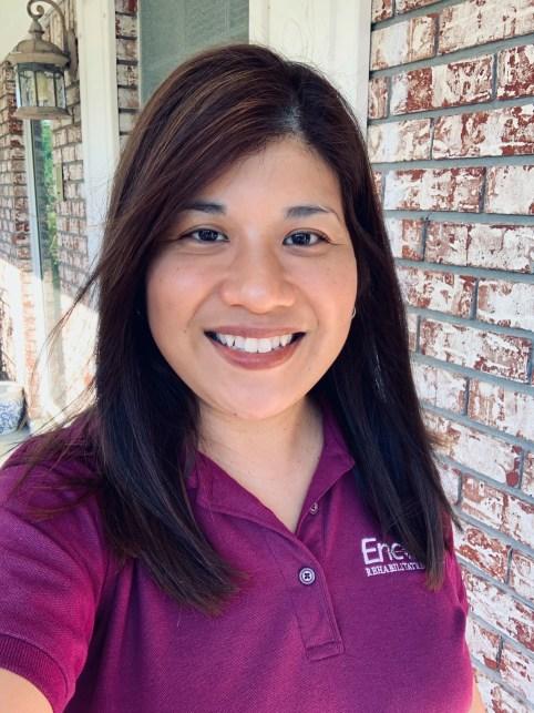 Encore Rehabilitation Speech-Language Pathologist Gay Camagong received her 3rd ACE award