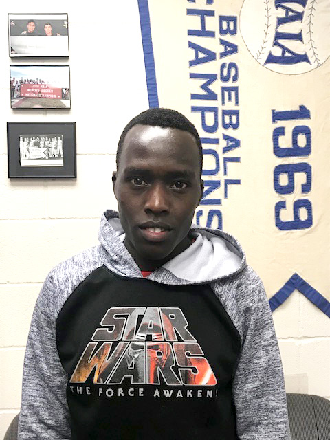 Jacob Kipkogei is Athlete of the Month for #EncoreRehab William Carey