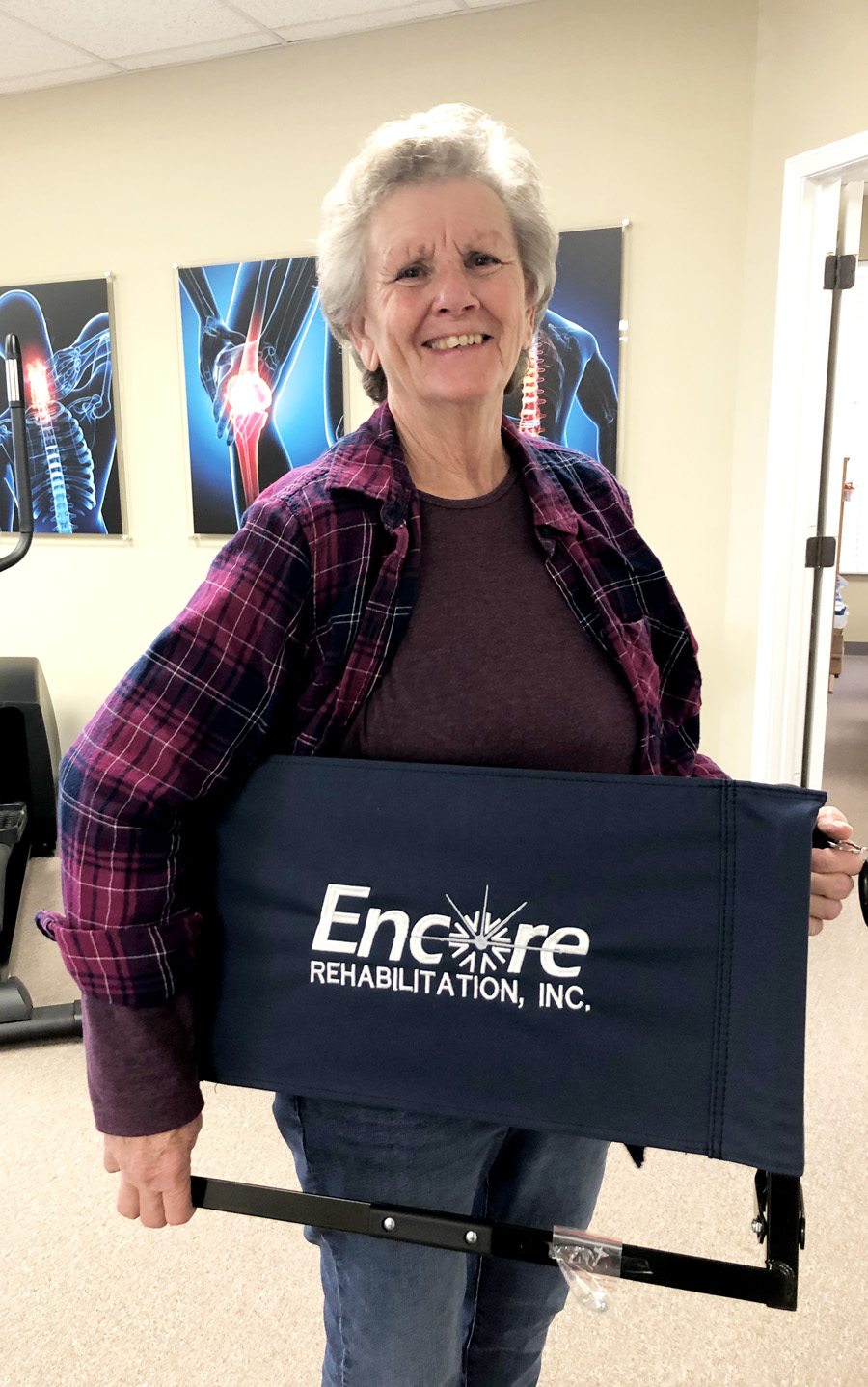Linda Stinson is Patient of the Month for #EncoreRehab Columbiana