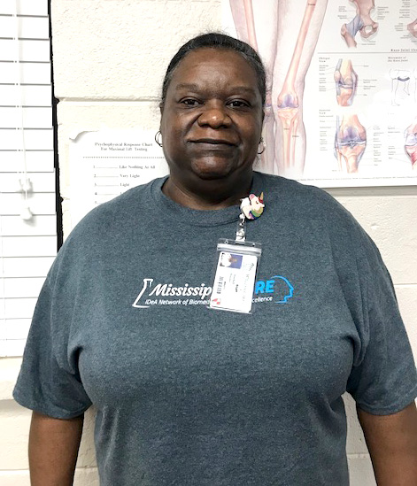 Machell Haynes is Patient of the Month for #EncoreRehab William Carey