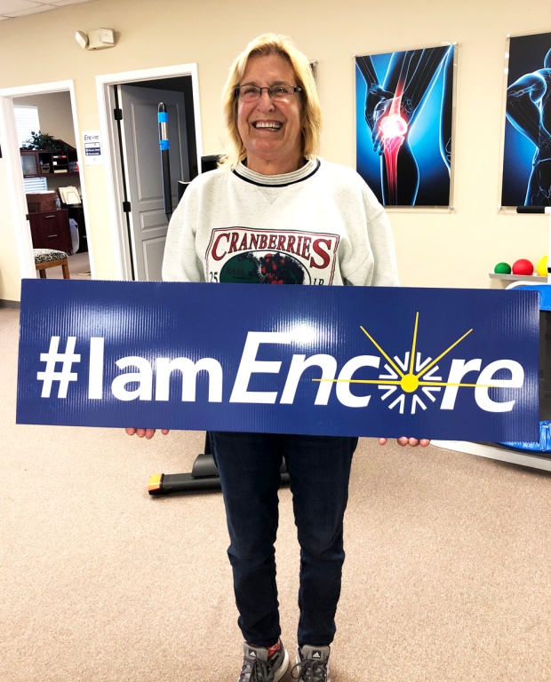 Annie Violette is Walking Better after rehab at #EncoreRehab Columbiana