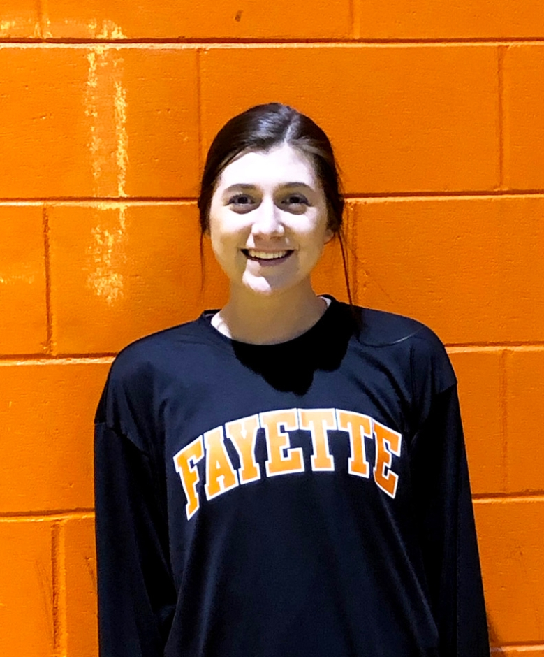 Karli Rushing is Athlete of the Month for Encore Rehabilitation-Fayette