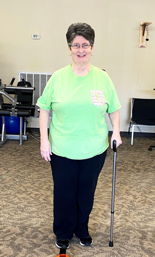 Vickie Franks is Patient of the Month for Encore Rehabilitation-Hamilton