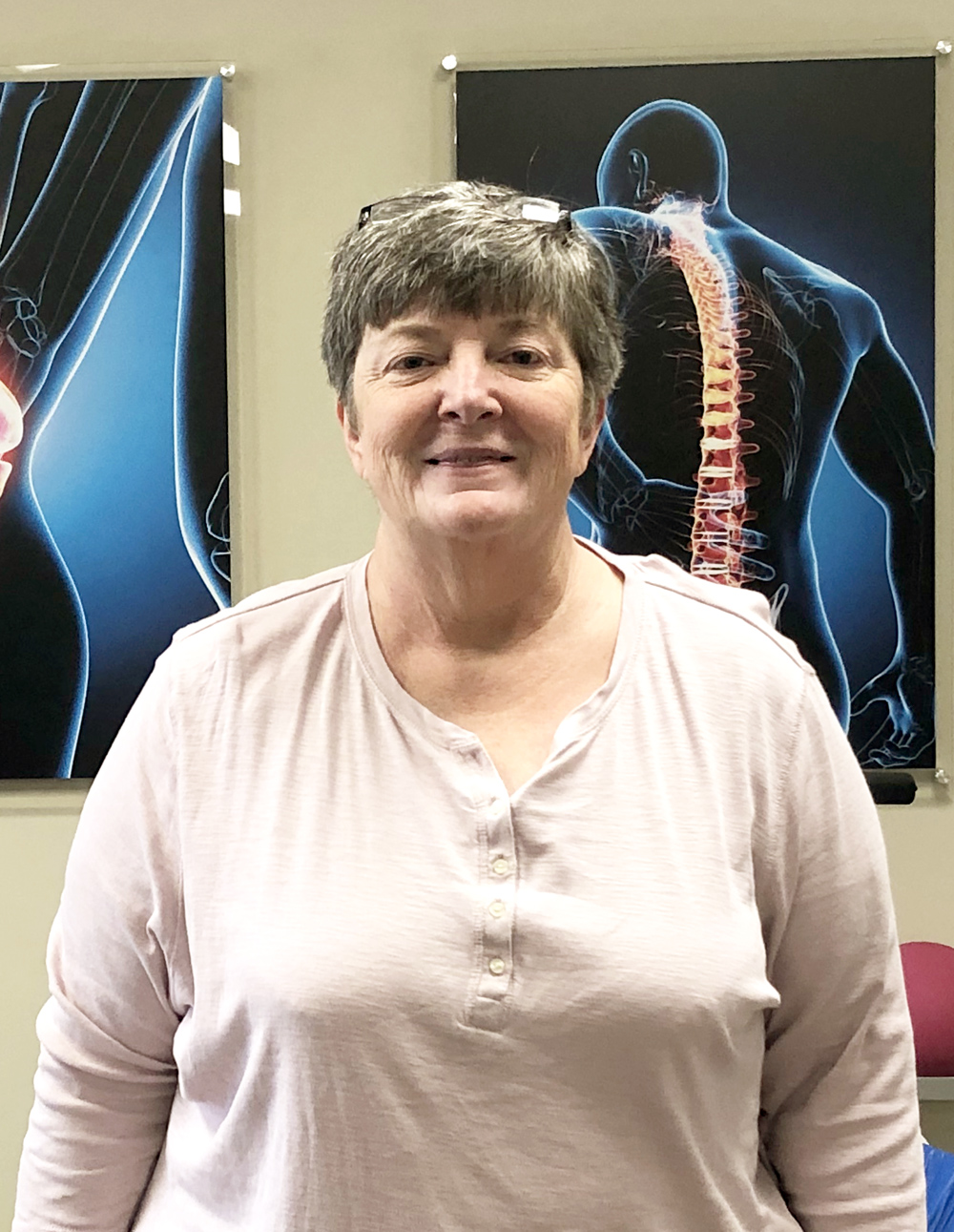 Janet Parson is moving without pain thanks to #EncoreRehab Columbiana