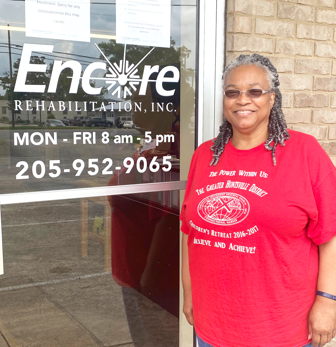 Linda Stowe is Patient of the Month for #EncoreRehab Hamilton