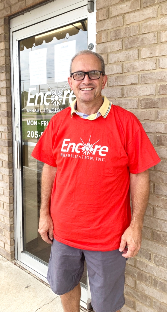 Wade Williams is Patient of the Month for #EncoreRehab Hamilton