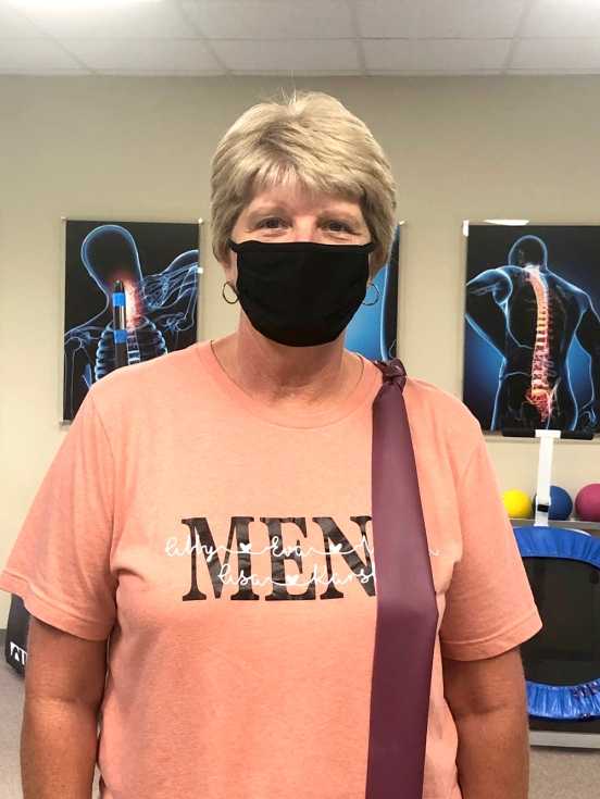 Bonita Reed regains the use of her arm with Physical Therapy from #EncoreRehab Columbiana