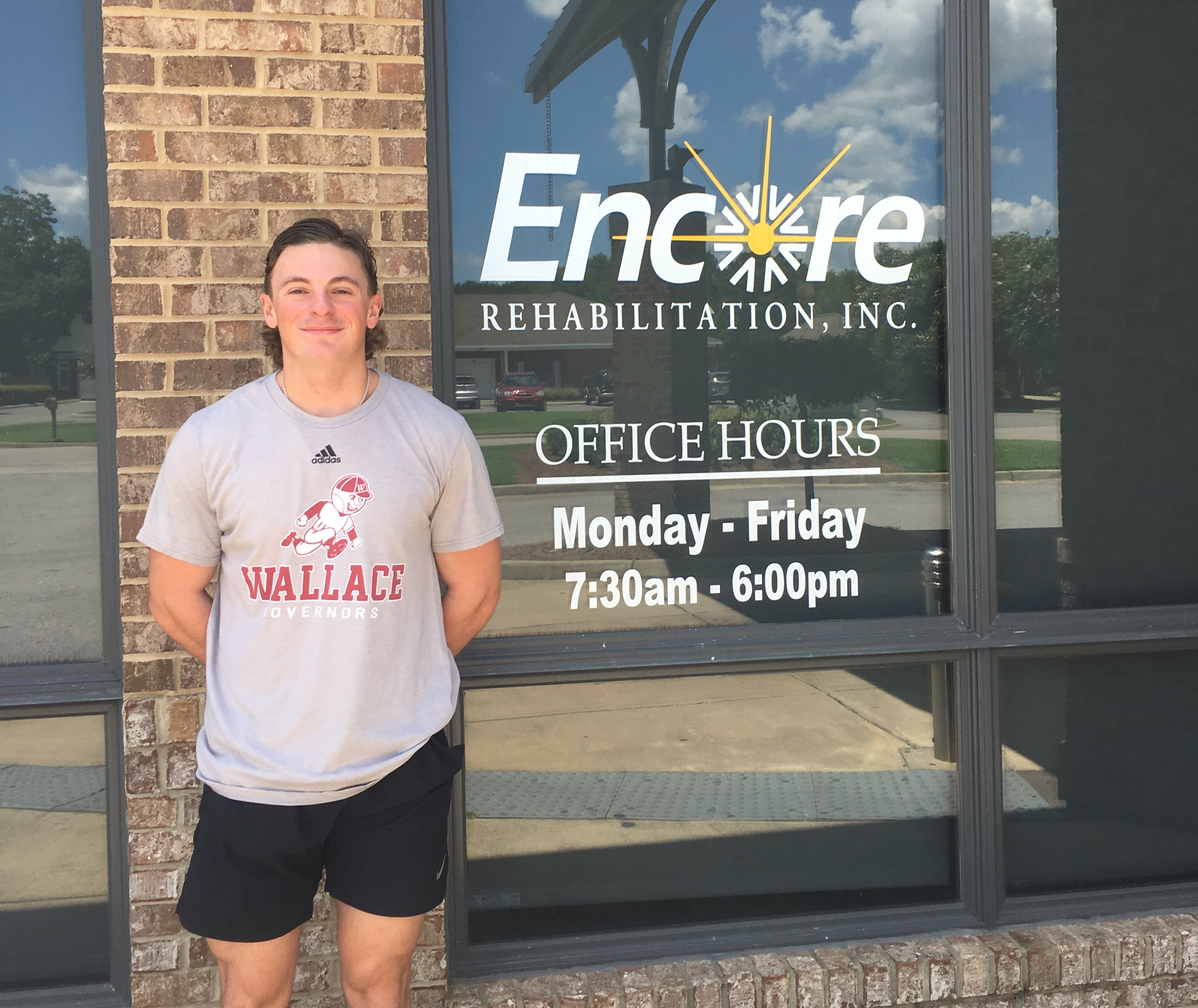 Cody Clark is Athlete of the Month for Encore Rehabilitation-Dothan