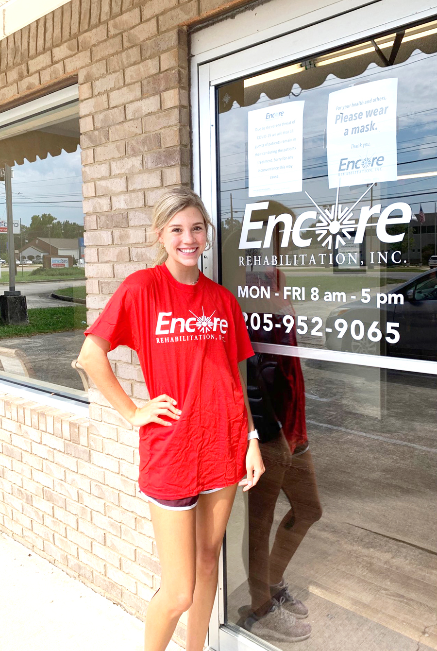 Hannah Gentz is Athlete of the Month for #EncoreRehab Hamilton