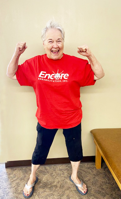 Ruth Knight is Patient of the Month for Encore Rehabilitation-Hamilton