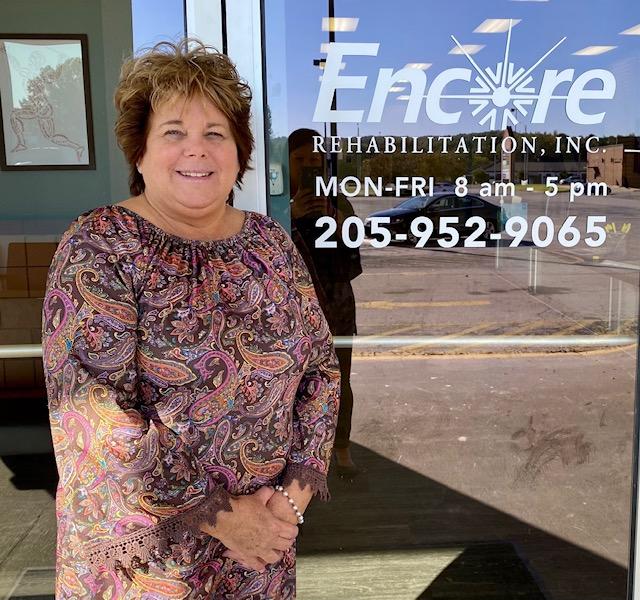 Belinda Holmes is the new Office Manager for #EncoreRehab Hamilton, Alabama
