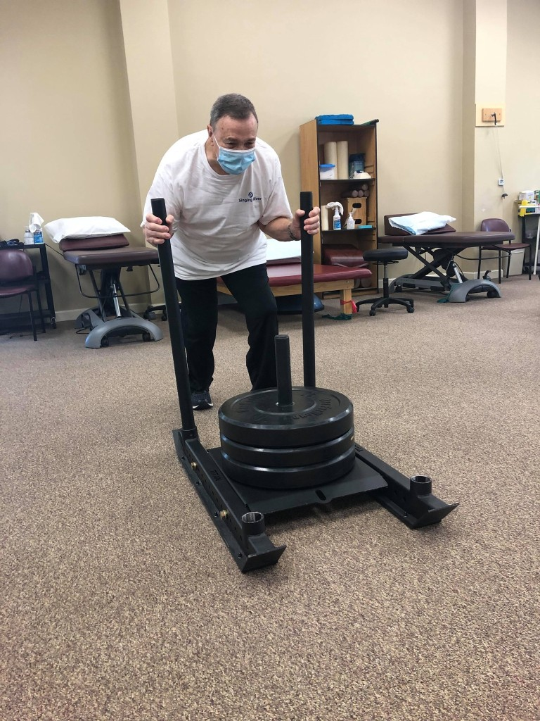 Mr Barron chose #EncoreRehab in Pascagoula for his Physical Therapy and he had wonderful results!