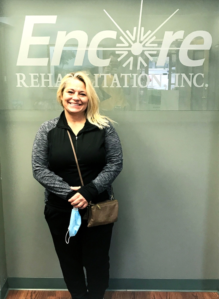 Sylvia Smith Reed received successful rehab at #EncoreRehab Decatur and will return to work next!