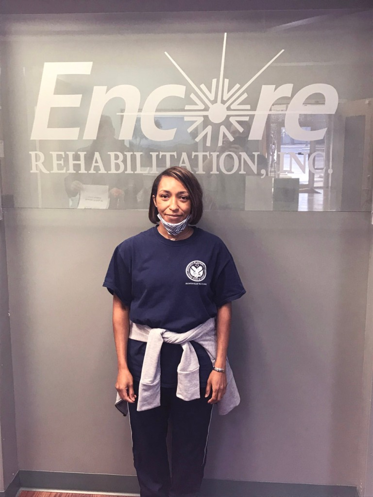 Ashley Madry had successful rehab with #EncoreRehab Decatur!