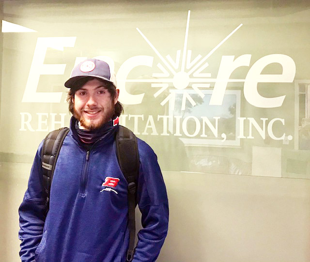 Houston Strickland is Athlete of the Month for Encore Rehabilitation-Decatur! Way to go, Houston!