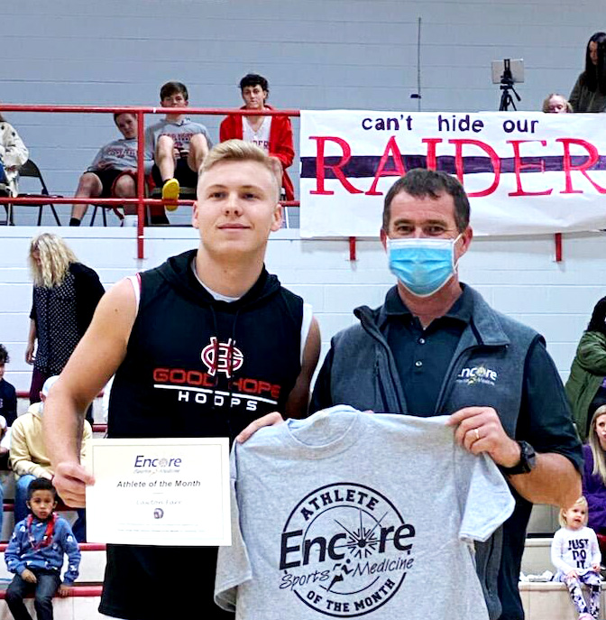 Lawton Farr is Athlete of the Month for Encore Rehabilitation-Cullman. #EncoreRehab