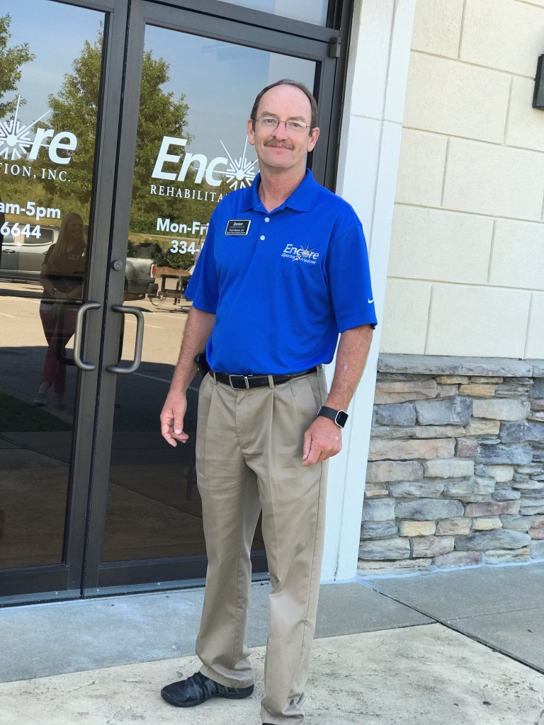 Happy National Athletic Training Month to Chad Abrams, ATC, with Encore Rehabilitation!