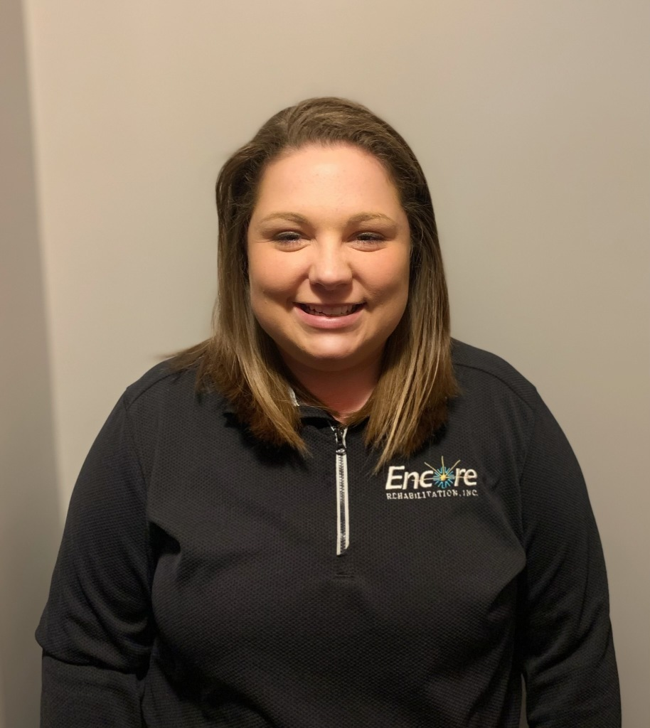 Happy National Athletic Training Month to Danielle Taylor, ATC, with Encore Rehabilitation-Russellville
