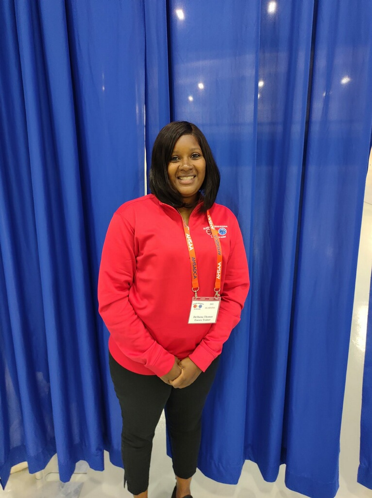 #EncoreSportsMedicine Athletic Trainer DeShena Thomas with Encore Rehabilitation-Citronelle