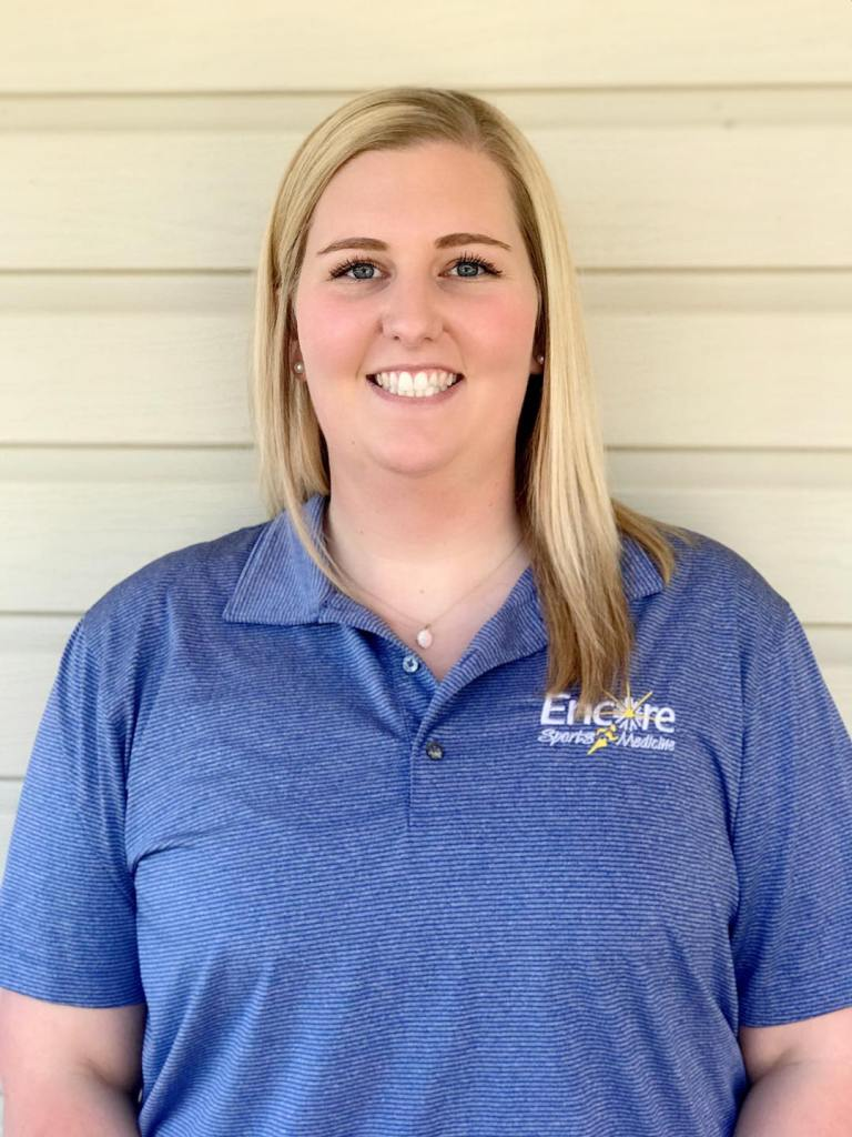 Lillie Morgan, ATC with #EncoreSportsMedicine
