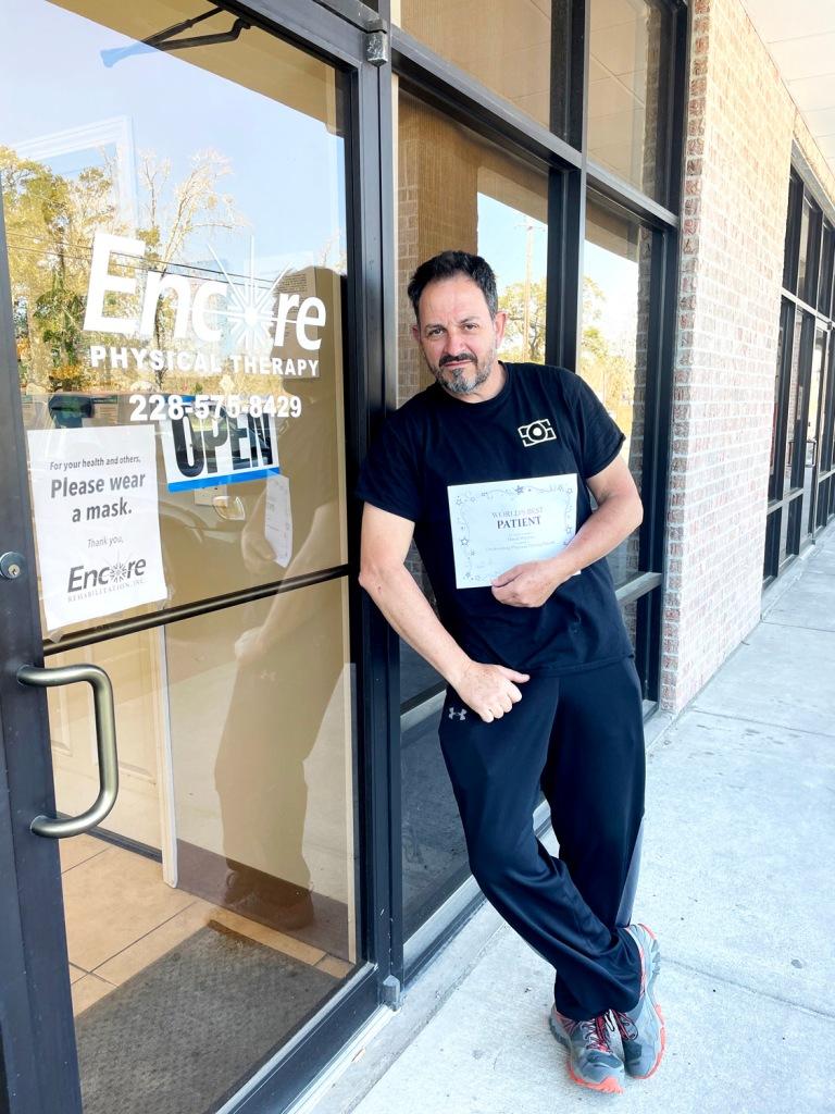 Mr. Wyman is having great success with his rehab at #EncoreRehab Long Beach