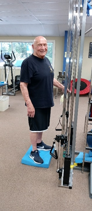 Henry Borrazzo is Patient of the Month for Gautier Rehab Services and Encore Rehabilitation #EncoreRehab
