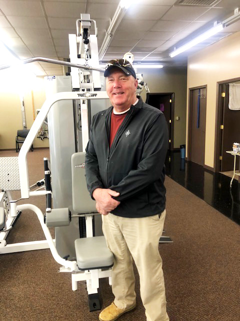 Steve Pounders is Patient of the Month for Encore Rehabilitation-Russellville