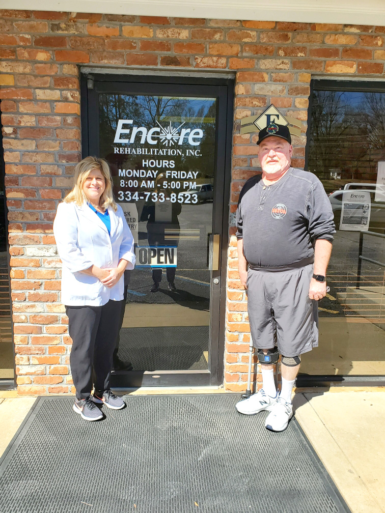 #EncoreRehab Patient of the Month Terry Shell (Ozark)