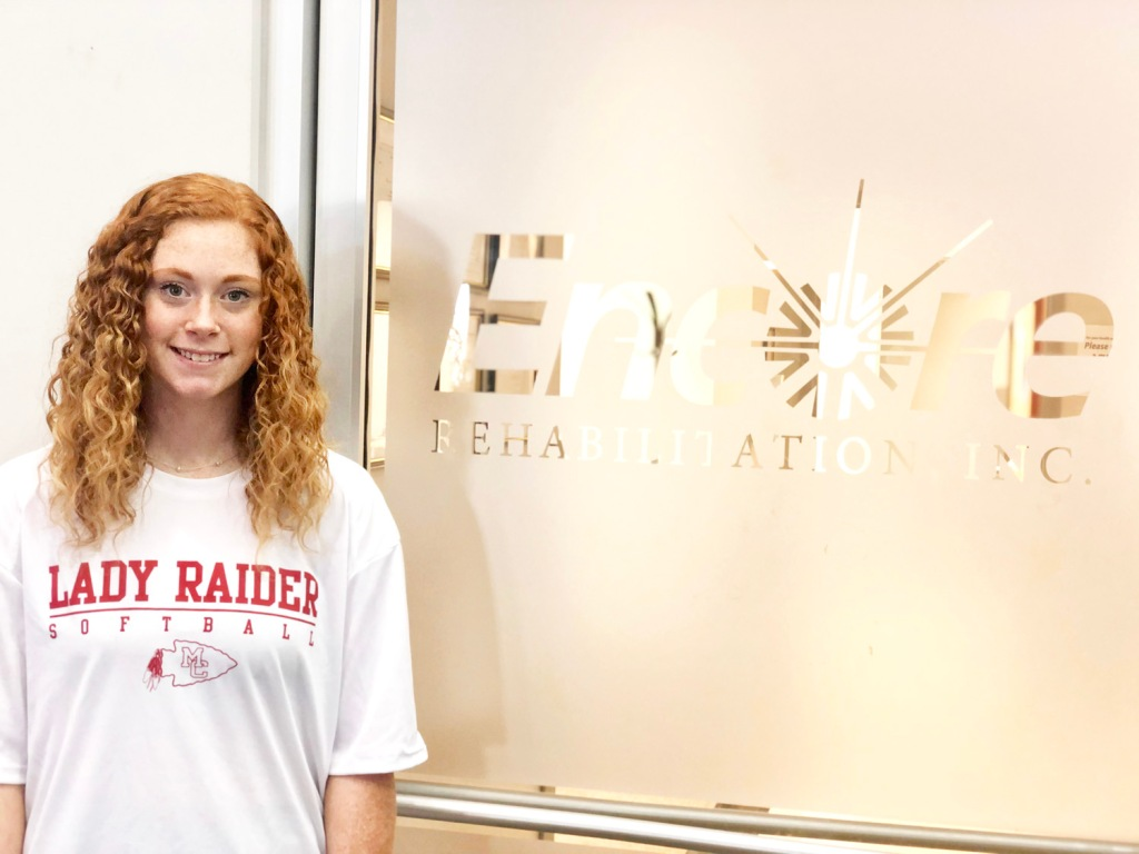 Victoria Taylor is Athlete of the Month for #EncoreRehab Winfield