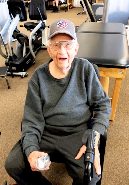 Jimmie Wakefield is Patient of the Month for #EncoreRehab Haleyville