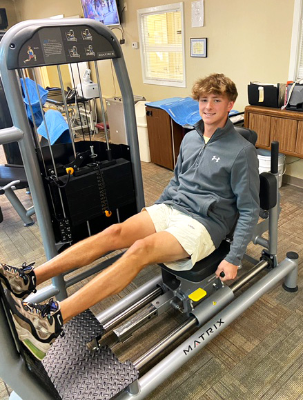 Preston Lightfoot is Athlete of the Month for Encore Rehabilitation-Muscle Shoals #weLOVEtoseeyoumove