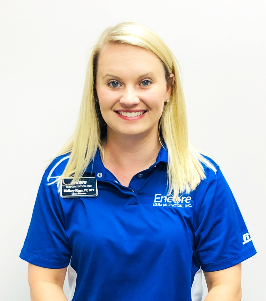 Mallory Riggs, PT, DPT, has joined the staff of #EncoreRehab Opelika! She has been a Clinician with Encore for 8 years.
