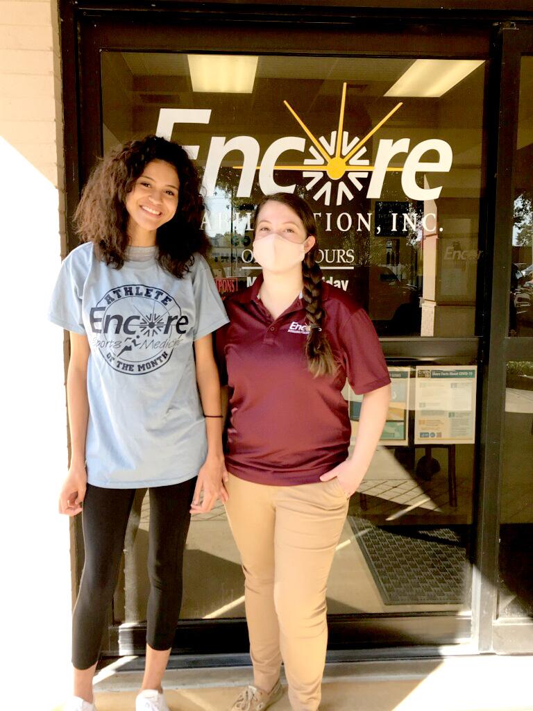 Ayrika is Athlete of the Month for Encore Rehabilitation-Enterprise.